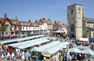 Market day in Malton