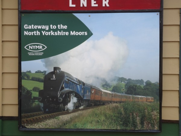 North York Moors steam railway close to our luxury Yorkshire holiday cottage