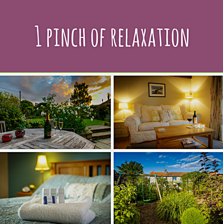 1 pinch of relaxation