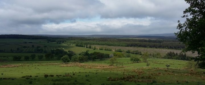 View over North York Moors