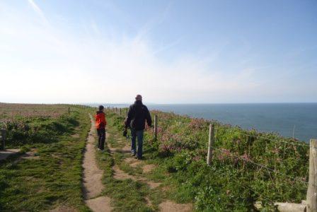 Clifftop Walk near Whitby