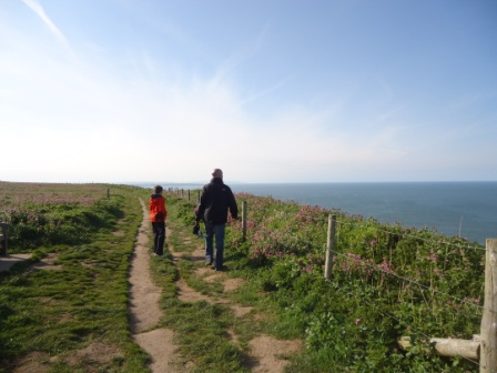 Clifftop Walk near Whitby