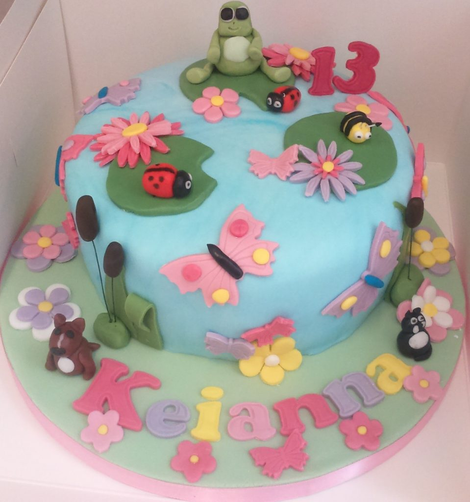 pond cake from Treacles Cakes