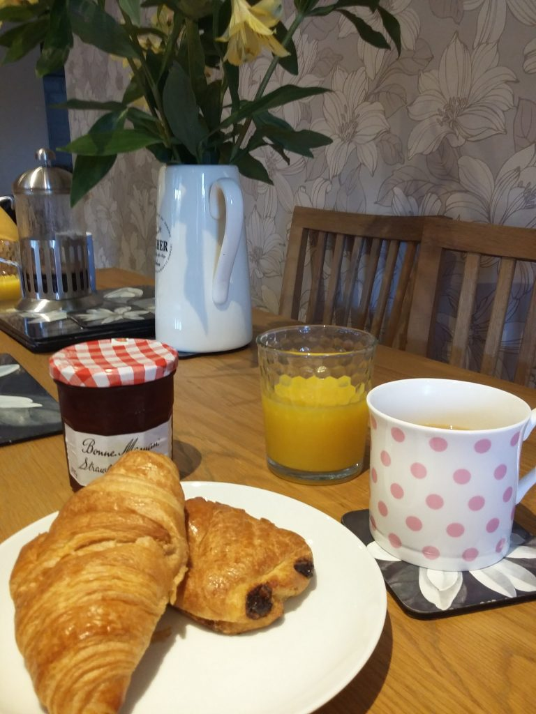 girls weekend to Yorkshire breakfast