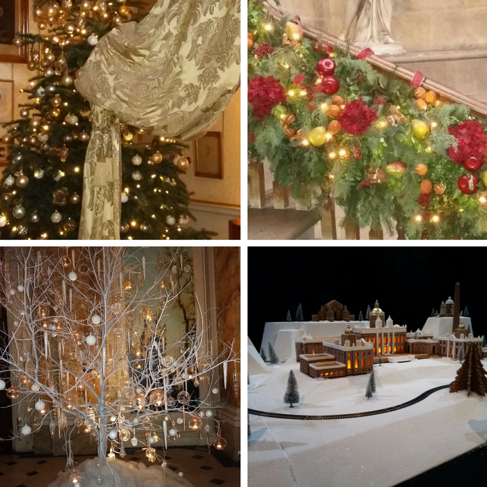 Castle Howard at christmastime