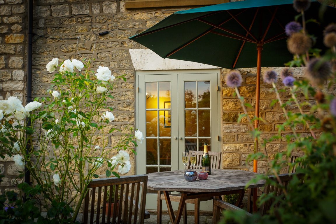 luxury holiday cottage in Yorkshire with garden