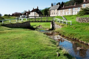 North York Moors village