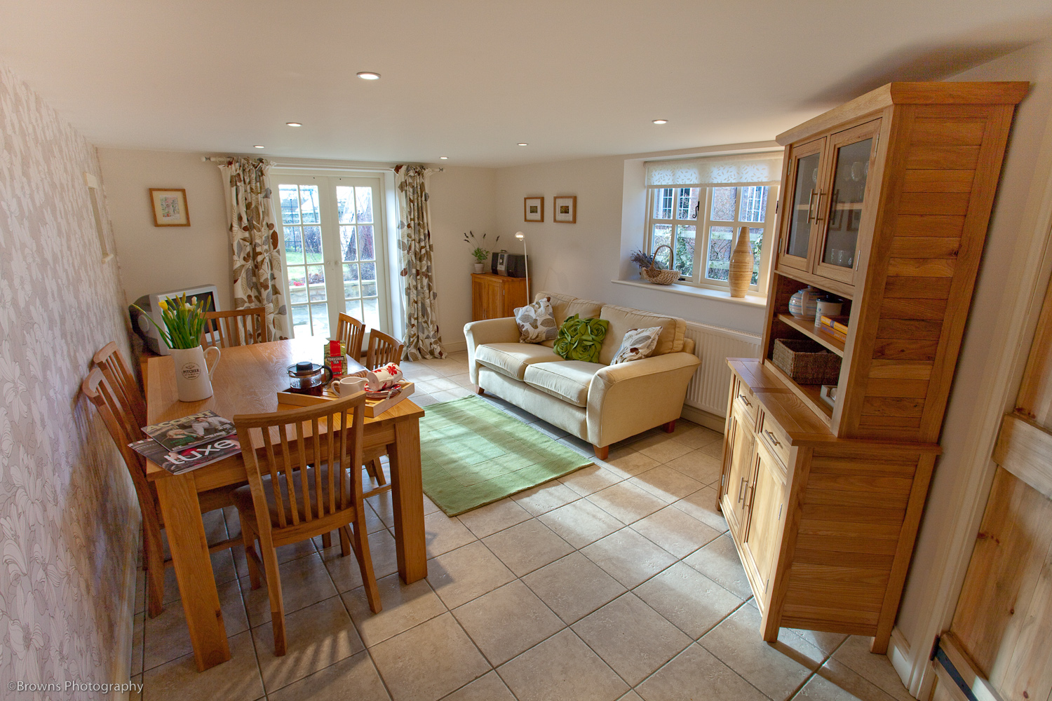 The Family Room Leads Onto The Garden Too