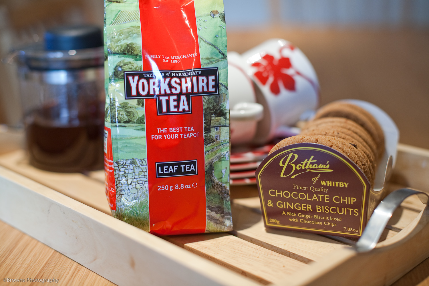Yorkshire Tea And Biscuits