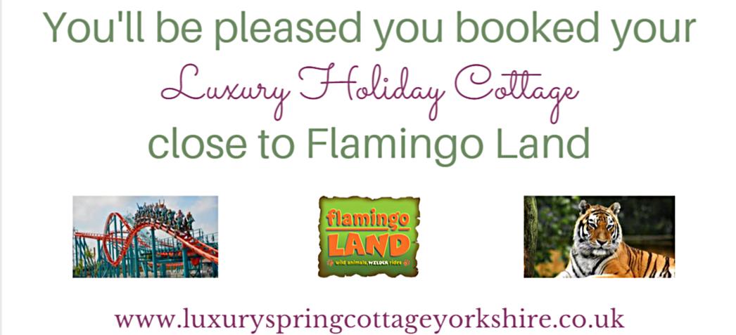 Luxury Holiday cottage close to Flamingo Land