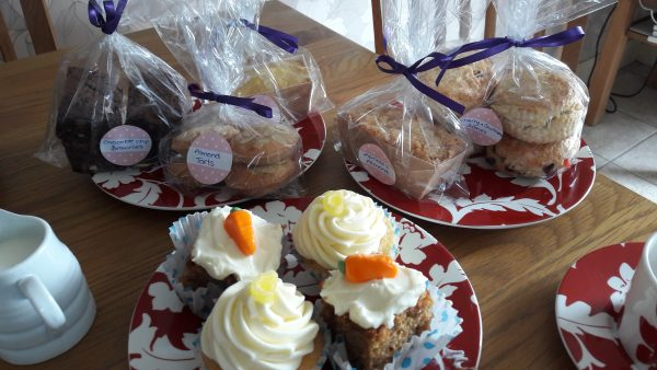a selection of Helen's cakes