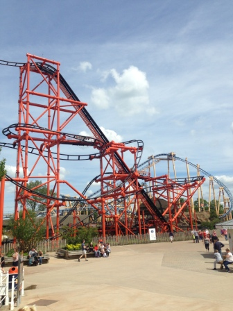 Kumali and Flamingo Land with teenagers